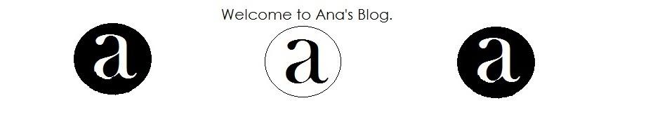 Ana's blog